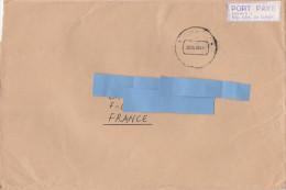 "W] RARE: Enveloppe Cover Congo RDC Bukavu 1 étiquette Label "" Port Payé "" - Democratische Republiek Congo (1997 - ...)"