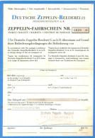 AK 2014 Friedrichshafen Zeppelin Museum Zeppelin - Fahrschein Replik - Altri