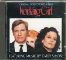 WORKING GIRL Soundtrack Cd Carly Simon - Filmmusik