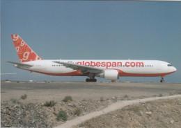 FLYGLOBESPAN, Boeing 767-319ER, Unused Postcard [15193] - 1946-....: Moderne