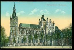 Nederland Ansichtkaart 1915 Den Bosch St. Janskerk Met Zend- En Ontvangststempels - 's-Hertogenbosch