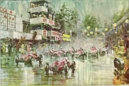 Grand Prix D'Italie, Turin 1948   -  Wimille - Alfa 158 - Ferrari - Maserati   -  Art Print By Walter Gotschke - Grand Prix / F1