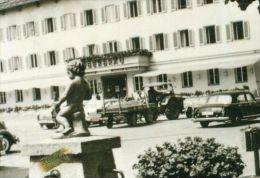 Holzkirchen Obb. MB Sw Gasthaus PKW Fiat Traktor Bulldog Mercedes Ponton 60er - Ansichtskarten