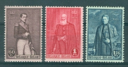 BELGIE - OBP Nr 302/304 - 3 Koningen - MNH**  - Cote 13,00 € - Belgium
