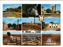 CP - SAINT MICHEL EN L HERM (85) - Saint Michel En L'Herm