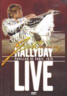 """D-V-D Johnny Hallyday  """"  Pavillon De Paris 1979  """" - Musik-DVD's"""