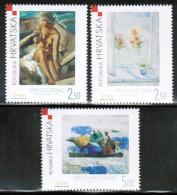 HR 2002 MI 627-29 UNUSED - Kroatien