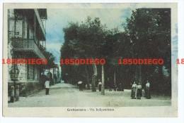 GROTTAMMARE - VIA INDIPENDENZA   F/PICCOLO  VIAGGIATA ANIMATA - Ascoli Piceno