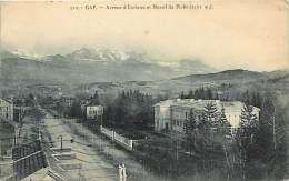Depts Div.- Hautes Alpes - W327 -  Gap - Avenue D Embrun Et Massif Du Piolit  (2461 M ) - - Gap