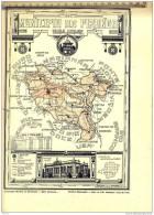 Brasil. Map 1927.MUNICIPIO De  PIRANGA - Mappe