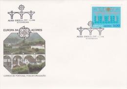 Acores FDC: 1984 Europa CEPT   (G59-68) - 1984