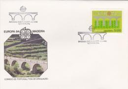 Madeira FDC: 1984 Europa CEPT  (G59-68) - 1984