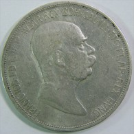 Österreich , FRANZ JOSEPH I , 5 COR ,  1848-1908 - Oesterreich