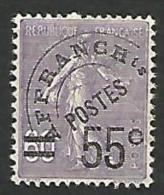 PREO  N° 47 NEUF* TTB - 1893-1947