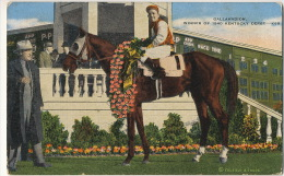 Gallahadion Bred By Mrs Ethel V. Mars In Clark County Horse Race Hippisme Winner Of The May 4, 1940 Kentucky Derby - Etats-Unis