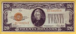USA - Billet De 20 Dollars. GOLD CERTIFICATS. 1928. Pick: 401. TB+ - Gold Certificates (1928)