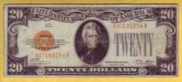USA - Billet De 20 Dollars. GOLD CERTIFICATS. 1928. Pick: 401. TB+ - Certificati D'Oro (1928)