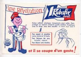 Buvard - Ruban Adhésif Rubafix, Produits Vitor Spontex - Buvards, Protège-cahiers Illustrés