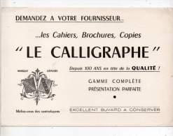 Buvard - Les Cahiers, Brochures, Copies, Le Calligraphe - Buvards, Protège-cahiers Illustrés