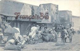 (Casablanca) - Le Maroc Pittoresque - Marchands De Sel - 2 SCANS - Casablanca