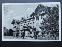 AK REICHENAU Hotel Fischer Feldpost 1941  /// D*14822 - Semmering