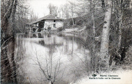 SURIS  16    Moulin à Huile Sur La Charente      Scan Dos Tampon Militaire   Camp Du RUCHARD    -W- - Autres Communes