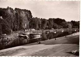 29----PONT AVEN--les Bords De L'aven La Roche En Forme De Sabot--voir 2 Scans - Pont Aven