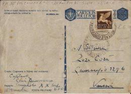 FRANCHIGIA WWII POSTA MILITARE XI UFF CONCEN 1942 TRIPOLI LIBIA X VENEZIA - Military Mail (PM)