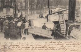 14 CAEN  Débarquement Du Bâteau Du Hâvre - Caen