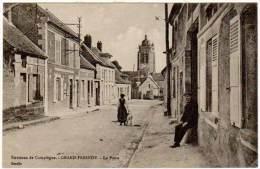 Grand Fresnoy - Environs De Compiègne - La Poste ( édition Decelle ) - Autres Communes