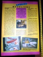 PUB PUBLICITE MAQUETTE HELLER KURUN PAQUEBOT AVENIR - Vieux Papiers