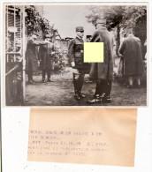 Photographie Photo General Gamelin 23 10 1939 Quartier Général - Guerre, Militaire
