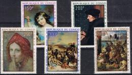 BB 337 REPUBLIEK DU CONGO  XX  YVERT NRS LP 90/94 ZIE SCAN - Briefmarken