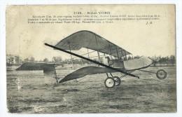 CPA Abîmée -   Avion - Biplan Voisin - - Avions