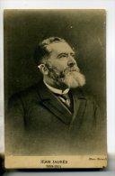 POLITIQUE  Jean JAURES Portrait  Editée Par Librairie Populaire Du Parti Socialiste  1914    D23-2014 - Personnages