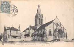 ¤¤  -   5   -  CONFLANS-SAINTE-HONORINE    -  L'Eglise   -  ¤¤ - Conflans Saint Honorine