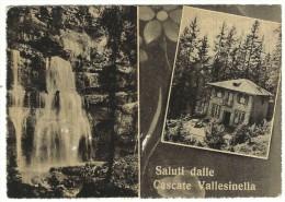 Trento, Madonna Di Campiglio- Saluti Dalle Cascate Vallesinella. - Trento
