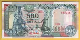 SOMALIE - Billet De 500 Shilin. 1989. Pick: 36. NEUF - Somalia