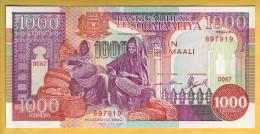 SOMALIE - Billet De 1000 Shilin. 1990. Pick: 37a. NEUF - Somalia