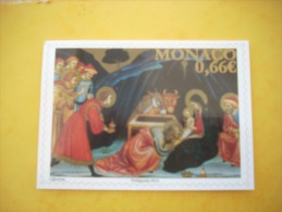 191   MONACO      NATIVITE - FDC