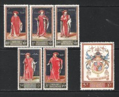 BELGIQUE (1959) - COB 1102/1107 *MLH - CULTURELLE / BIBLIOTHEQUE ROYALE DE BELGIQUE - Belgium