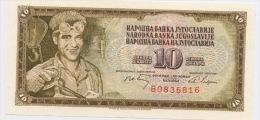 YOUGOSLAVIE: 10 DINARA NEUF - Yougoslavie