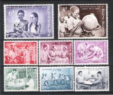 BELGIQUE (1960) - COB 1139/1146 *MLH - INDEPENDANCE DU CONGO - Belgium