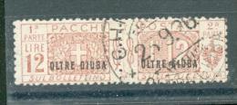 Oltre Giuba - 1925 - Usato/used - Pacchi Postali - Un. N. 11 - Oltre Giuba