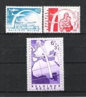 BELGIQUE (1960) - COB 1147/1149 *MLH - PONT AERIEN / COMITE NATIONAL CONGO - Bélgica