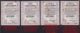 Yvert N° 1408 - Variétés - XXème Anniversaire De La Libération - A Tous Les Français - Voir Scans - Variétés Et Curiosités