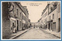 22 - LAMBALLE -- La Rue Moussigné - Lamballe