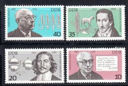 ALEMANIA DDR 1977.YVERT Nº1875/1878.PERSONALIDADES  NUEVO SIN CHARNELA  SES481 - [6] República Democrática