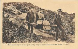 Lot N°27385  Carte De Le Premier Moyen De Transport Qu'il Y Eut Pour La Chambotte De 1884 A 1892 - France