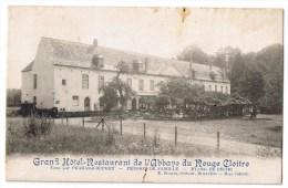 Auderghem Anderghem Ouderghem Rouge Cloitre Grand Hotel Restaurant Abbaye Perrard Dupret Pension De Famille Peche 1913 - Auderghem - Oudergem